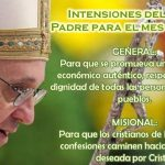 INTENCIONES DELPAPA FRANCISCO (ENERO 2014)