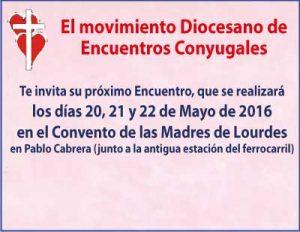 Encuentros Conyugales - Mayo 2016