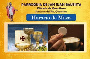 Horario de Misas